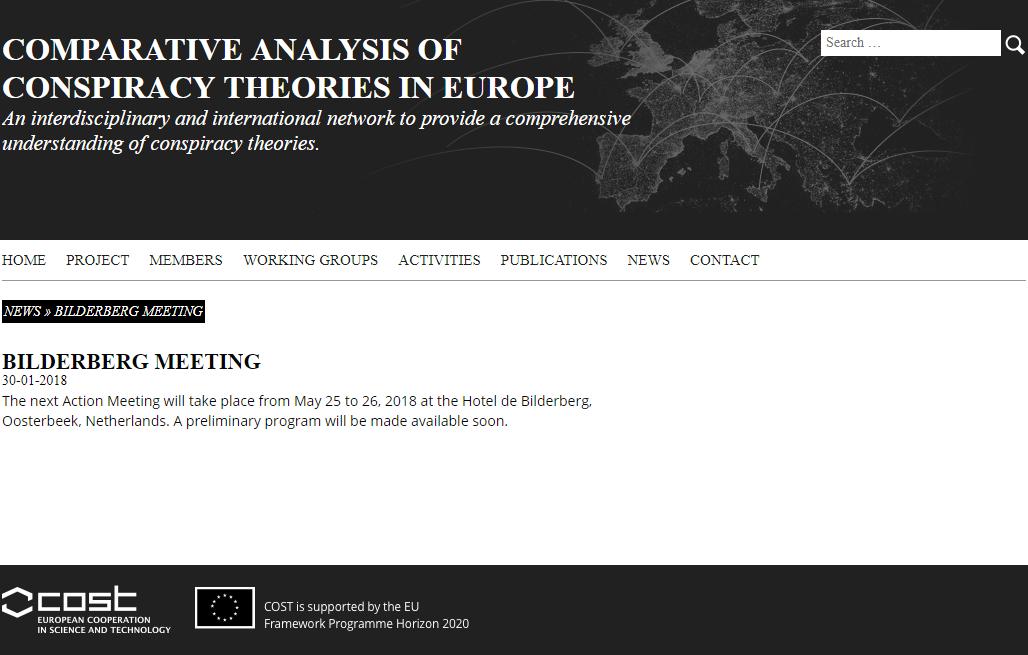 Universität Tübingen: Comparative Analysis of Conspiracy Theories ...